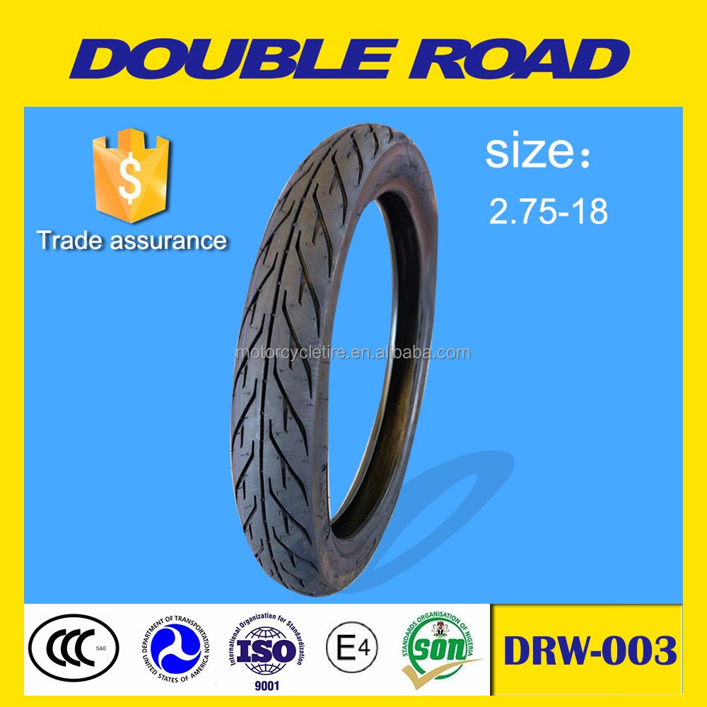 Qingdao supplier racing motorcycle tire 275-18 tubeless type to indonesia market