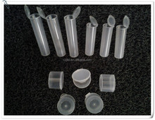 plastic tube container plastic storage tubes,rigid transparent plastic tube 4mm