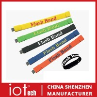 Wristband/Bracelrt USB Memory Flash Drive 8GB With Logo