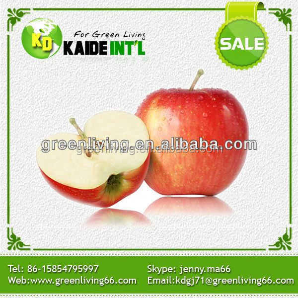 Juicy White Apple Fruits