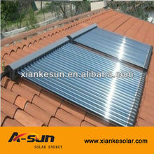 Haining xianke colector <span class=keywords><strong>solar</strong></span> con tubos heat pipe aprobado por <span class=keywords><strong>keymark</strong></span> srcc y