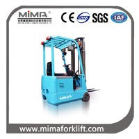 Mini 3-wheel electric forklift with CE, SGS, ISO