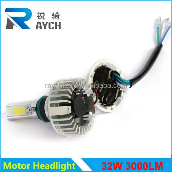 2015 New Motorcycle M3S 3pcs model 3000 lumen 3000K/6500k motor headlight motor bicycle light motorcycle accessory
