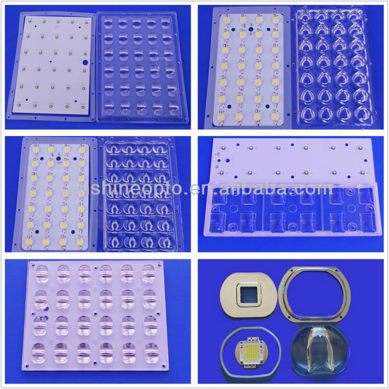 64 Points 3030 SMD Led Light Source Lens Array