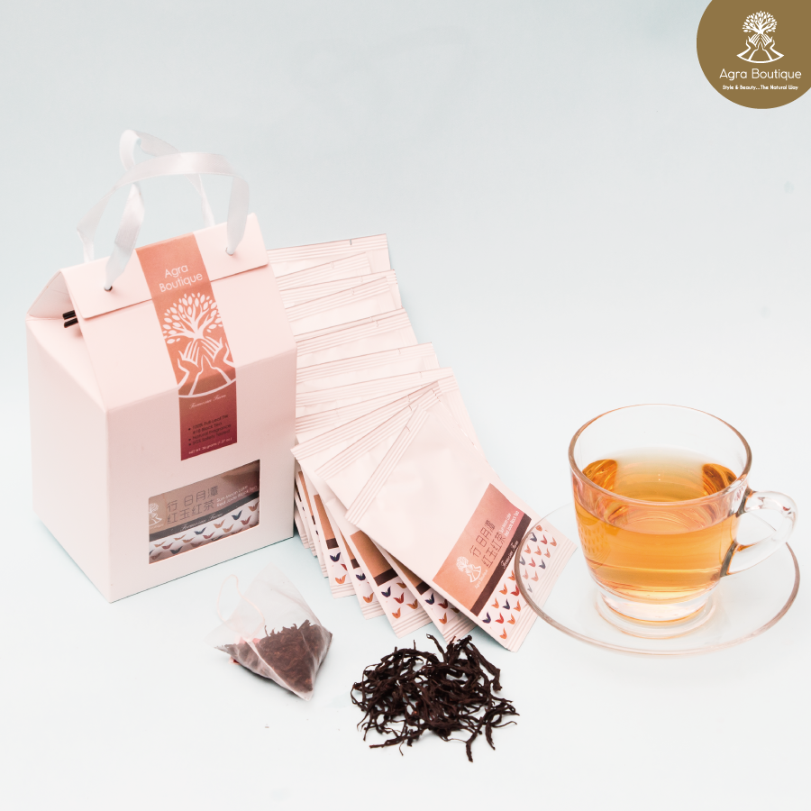 Taiwan Private Label Organic Flavored Wedding Set Red Jade Black Tea