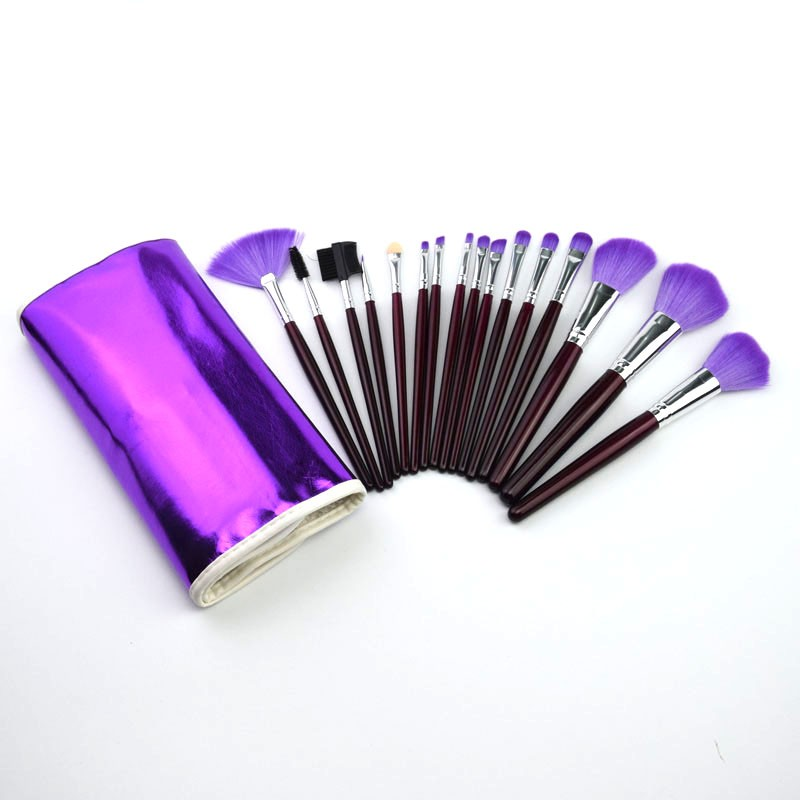 16pcs Makeup Tool Cosmetic Brush Custom Logo Synthetic Hair Make up Brushes