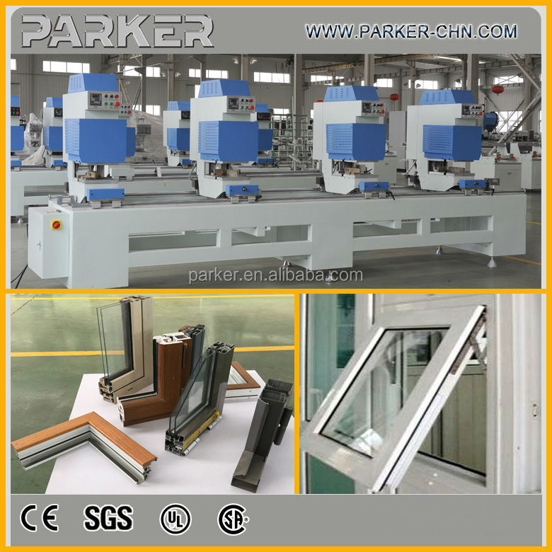 pvc window welding machine/pvc door making machine line