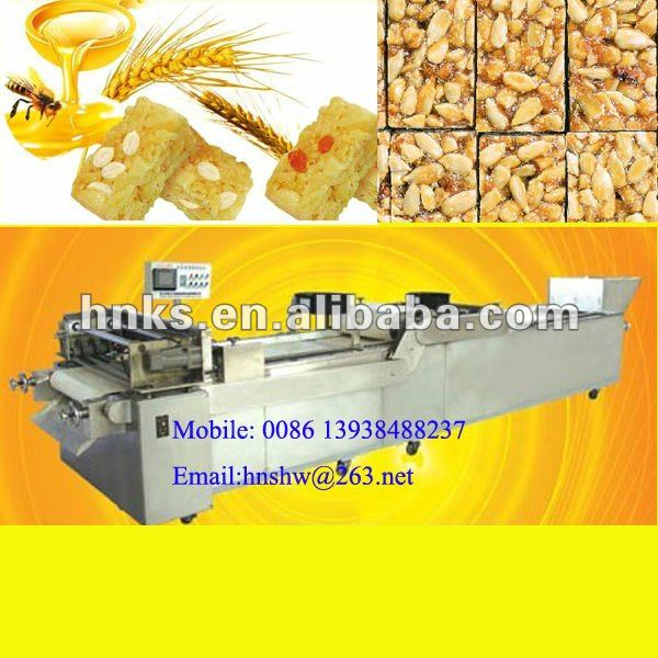 nut crisp making machine/sesame crisp machine/peanut candy brittle machine