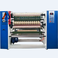 Digital bag packing tape machine automotive masking slitting automatical rewinding