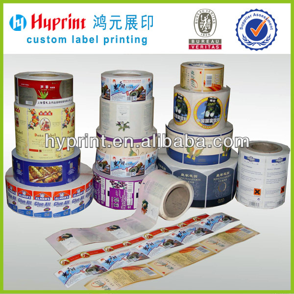 labels for food containers