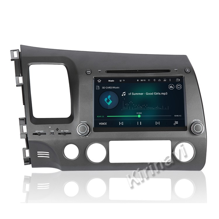 Kirinavi WC-HC7658L android 5.1 car multimedia system for honda civic 2006 - 2011 car audio gps navigation wifi 3g