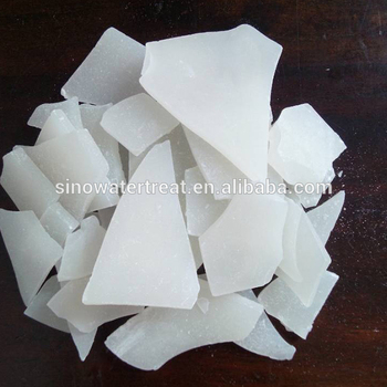 Flocculating agent aluminium sulphate 17% white crystal shape