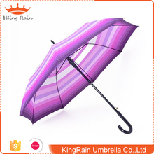Personalized Custom Prited Colorful Straight Change Color Magic Umbrella