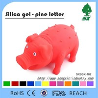Cute Pig Shaped Pet Toy & Squeaky Pig Toy & pig dog toy Hot sale and Promotaional Price