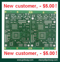 printed circuit board design services single sided pcb