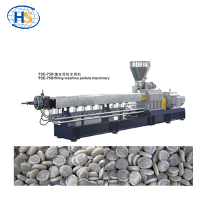 Plastic Recycling Extruder Machinery/Plastic Filler Masterbatch Making Machine/PET Bottle Recycling Plant