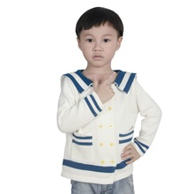 ins 2017 autumn and winter hot cotton fashion sailors shirt children men and women wild sweater children's clothing