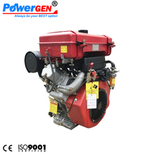 Best Seller!!! POWERGEN Electric Start Diesel Fuel Air-cooled 4 Stroke 2 Cylinder Engine
