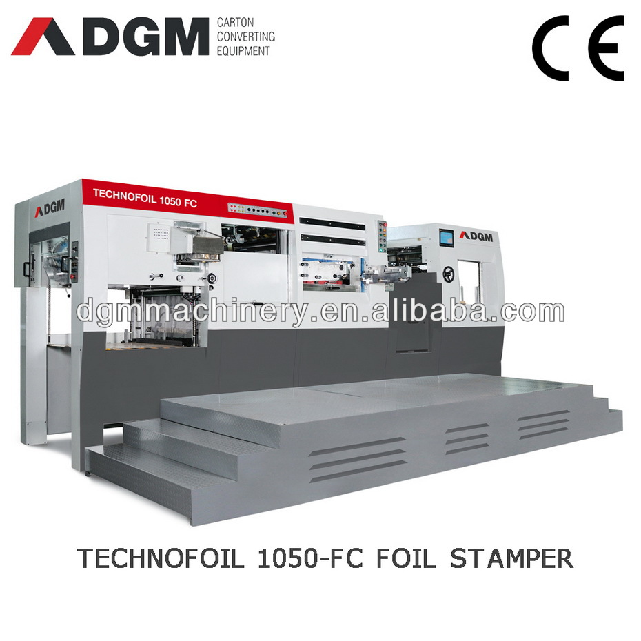 TECHNOFOIL1050 FC screen guard automatic die cutting machine