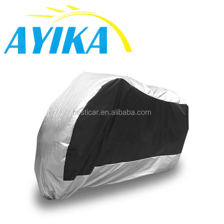 Oem Custom Polyester Dustproof Motorcycle Cover At Good Price