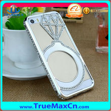 New Design metal bumper frame case for iPhone 5 with luxurious diamond