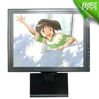 15 inch small touch screen monitor usb powered general touch open frame monitor