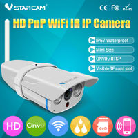 ONVIF HD WIFI Outdoor IP67 64GB SD card Array waterproof wireless outdoor security camera sd card