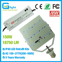 LED retrofit kit mogul base 150W street light parking lot lighting retrofit led flood light