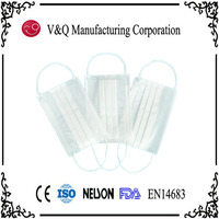 PP 3ply disposable protective face mask for child