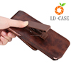 high quality factory wholesale leather belt clip waterproof phone pouch case for iphone 7