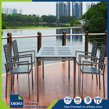 Top quality outdoor restaurant table top