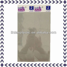 bottle shots BOPP printed packaging bags