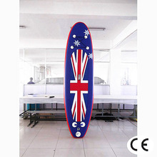 Promotional inflatable sup paddle board with Korea imported non-slip EVA pad