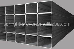 pre galvanized rectangular pipes from china, suqare hollow section with low price / square tube