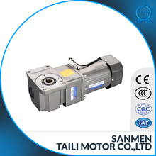 ac right angle geared motor hollow type 104mm type 180w-300w