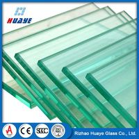 OEM Solid balcony tempered glass panel