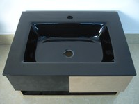 Tempered glass countertop,bathroom vanity top,counter basin