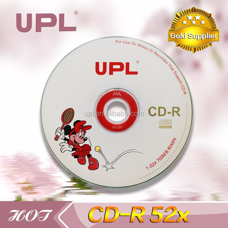 wholesale High Quality record 80 minute blank printable cd r