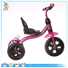 Best lowrider toy cars kids pedal trike plastic tricycle kids bike with handle