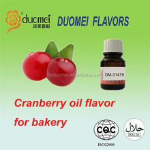 Rich Cranberry oil soluble flavor bakery flavours