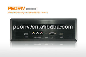 wall mounted hotel room HDMP2000M-B/P media hub/bluetooth media