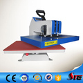 CE British manual shaking head swimwear heat printing machine