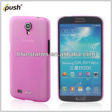 Pink Ultra Thin Clear Crystal Snap-On New Matte Hard Case Cover for Samsung galaxy mega 6.3 i9220
