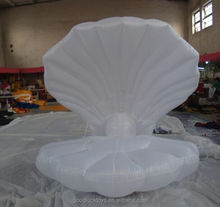 Fantasy stage/wedding performance inflatable seashell