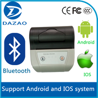 Mini Mobile Bluetooth Thermal Printer for Android Mobile Phone/Tablet or PC