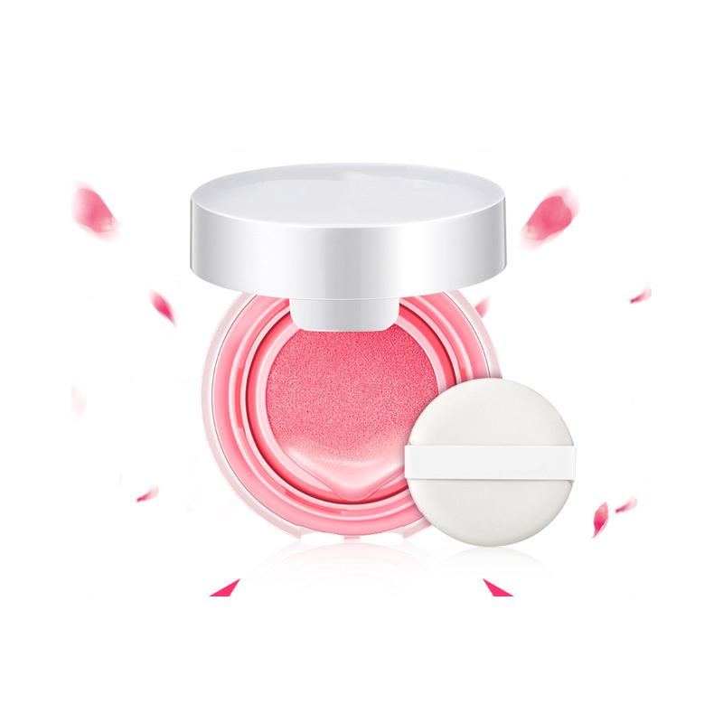 2018 new air cushion blusher cream moisturizing makeup rouge air cushion cream in stock