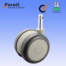ISO 9001:2008 high quality small medical plastic caster wheels