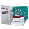 Detian offer wooden exhibition booth modular display stand 20 by 20 booth display