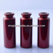 colored borosilicate glass tube bottle for testing,glass vial for perfume
