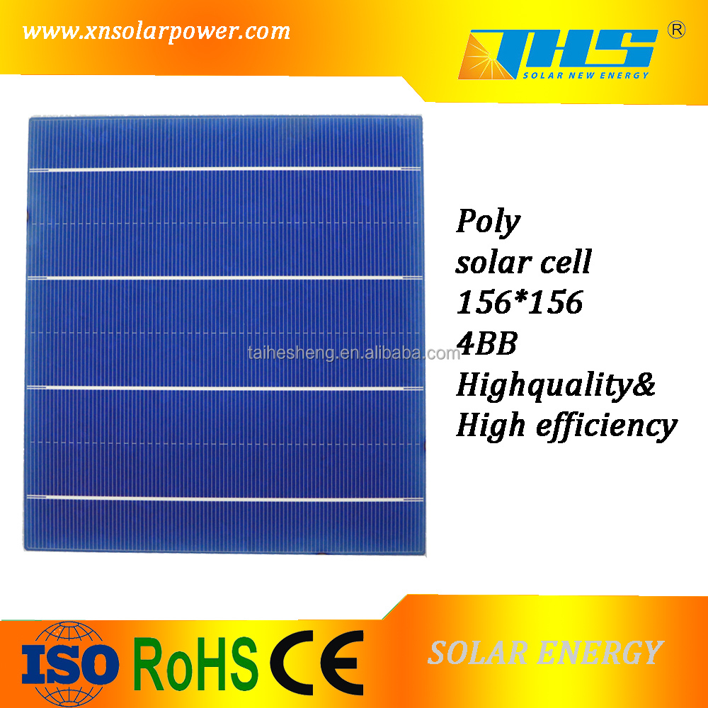 High quality photovoltaic 4bb solar cell polycrystalline silicon material for sale